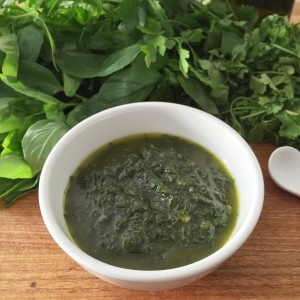 Mixed Herb Salsa