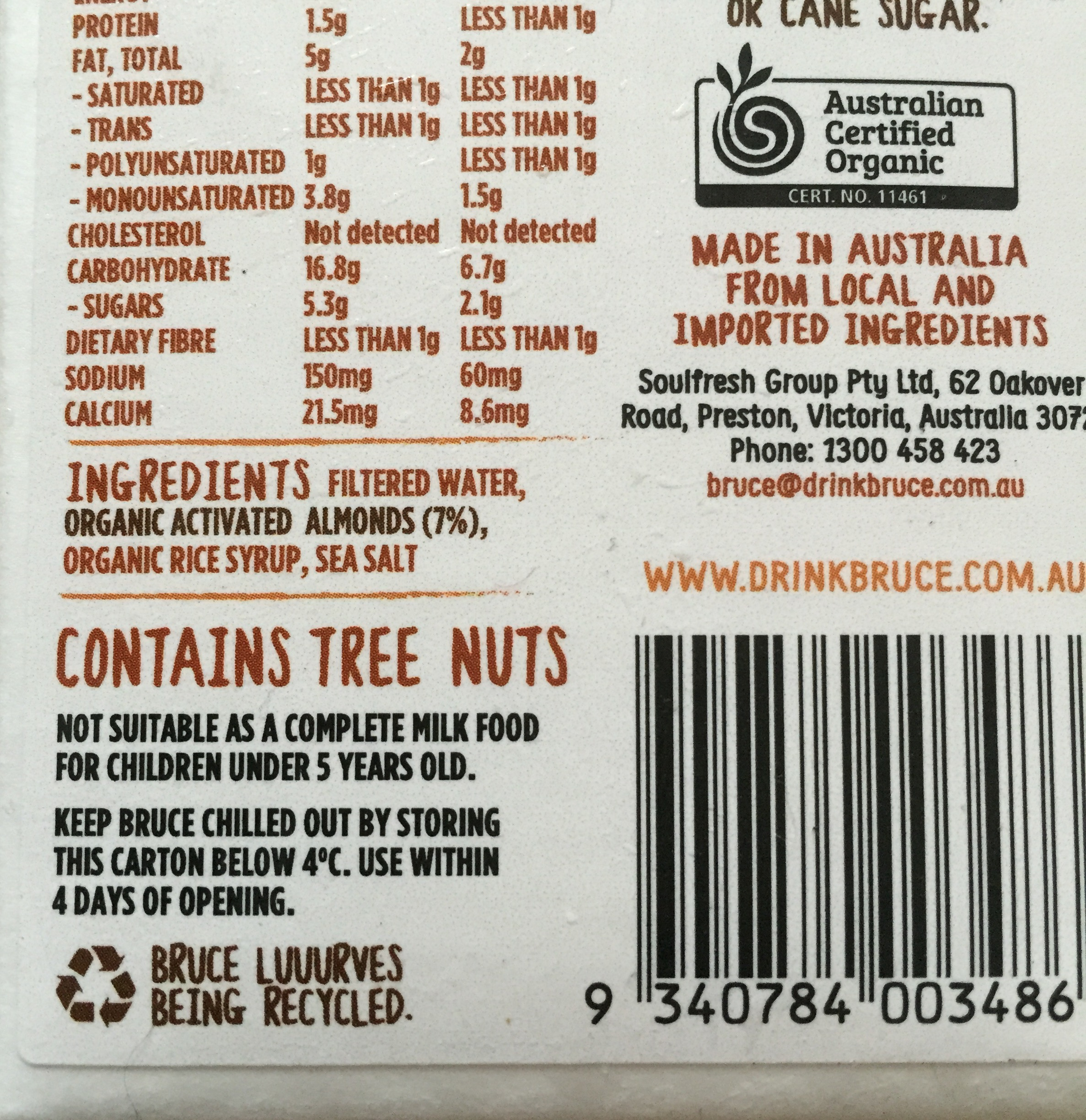 Not all almond milks are created equal - The Tolerant Table