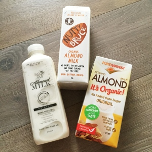 Pure almond milks