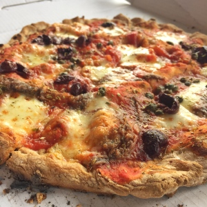 Sicilian, Capers and Anchovies Pizza