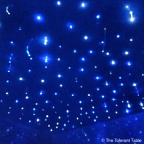 Saltuary float room ceiling