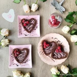 Chocolate Valentine's Tarts 1